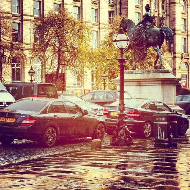 Rainy Photograph - #liverpool #uk #england #museum #cars by Abdelrahman Alawwad