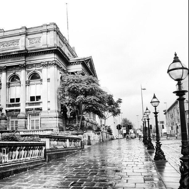 England Photograph - #liverpool #uk #england #rainy #rain by Abdelrahman Alawwad