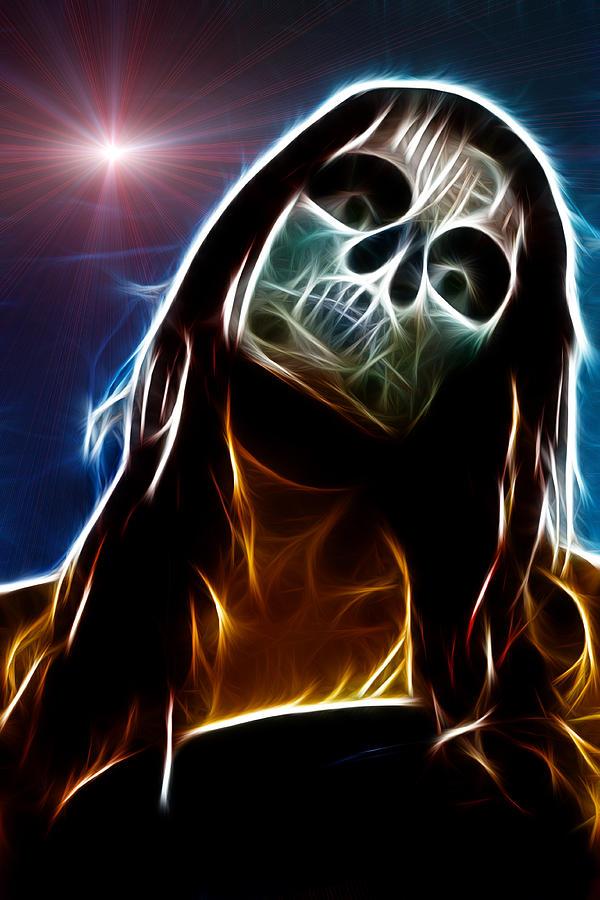 Horror Digital Art - Living Dead by Tilly Williams