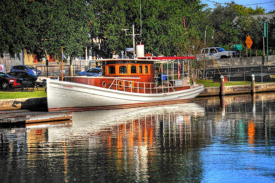 Boat Digital Art - Living Life by Barry R Jones Jr