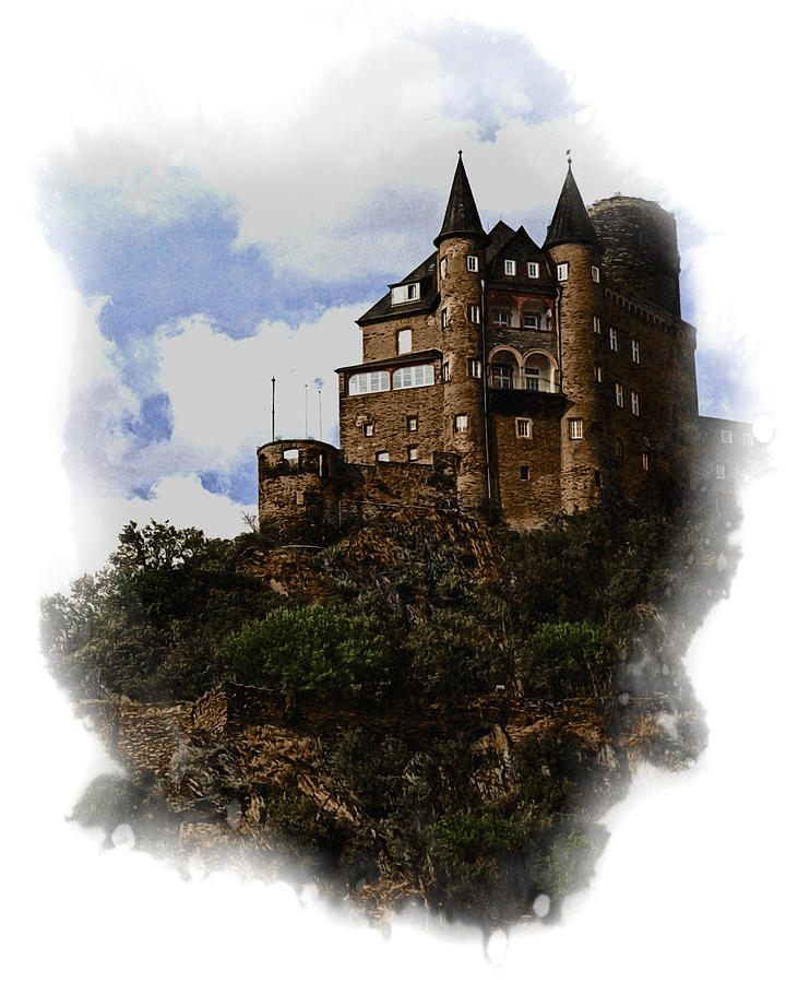 Castle Photograph - Living On The Rhine by Cecil Fuselier