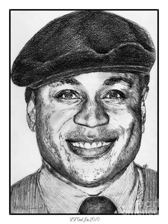 Ll Cool J In 2010 Drawing By J Mccombie