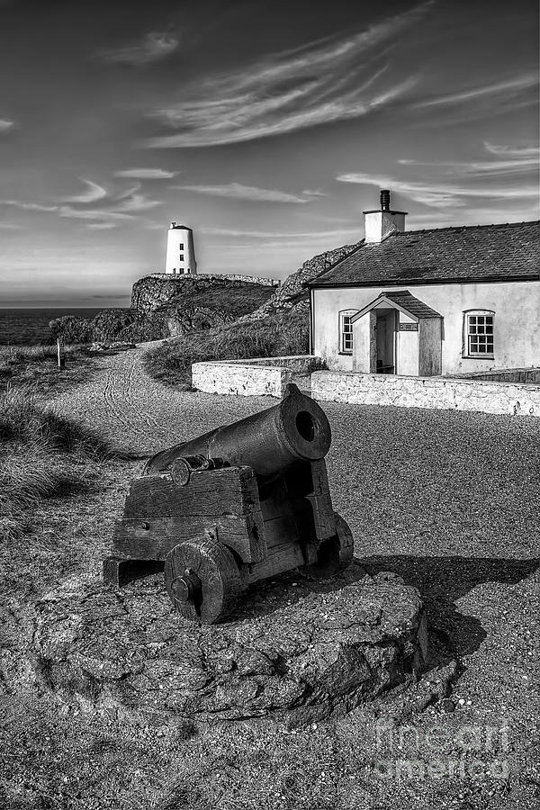 Anglesey Photograph - Llanddwyn Cannon V2 by Adrian Evans