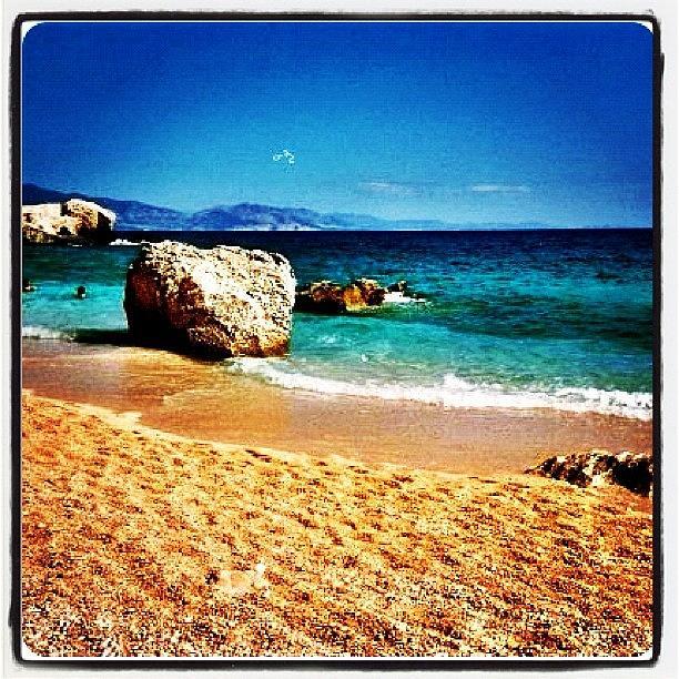 #lo-fi #strand #beach #hansefamous Photograph by Ute Dominikat