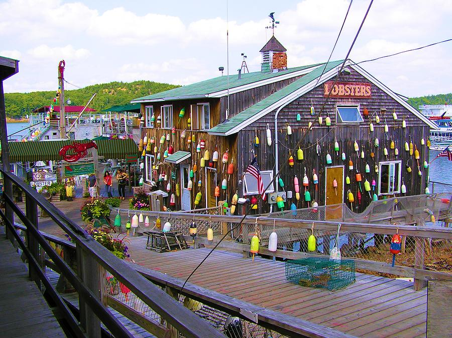 Lobster Shack Bar Harbor Maine Photograph by Sven Migot