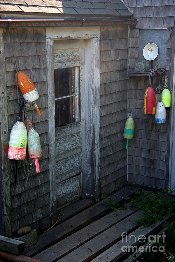 Portland Photograph - Lobstermans House by Brenda Giasson