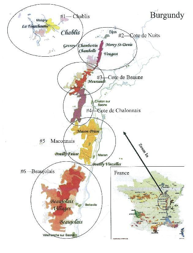 Chablis France Map.Locator Map For Chablis Region In France Drawing By None
