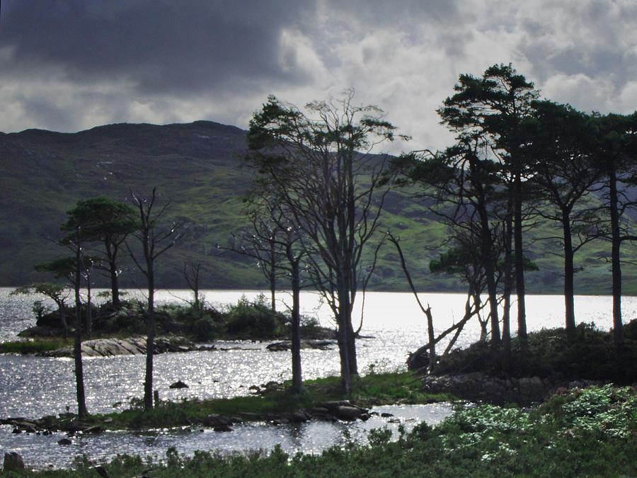 Lake Photograph - Loch Assynt by Steve Watson