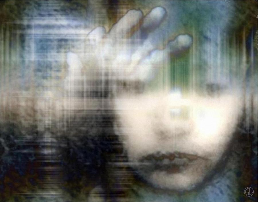 Child Digital Art - Locked In 2 by Gun Legler