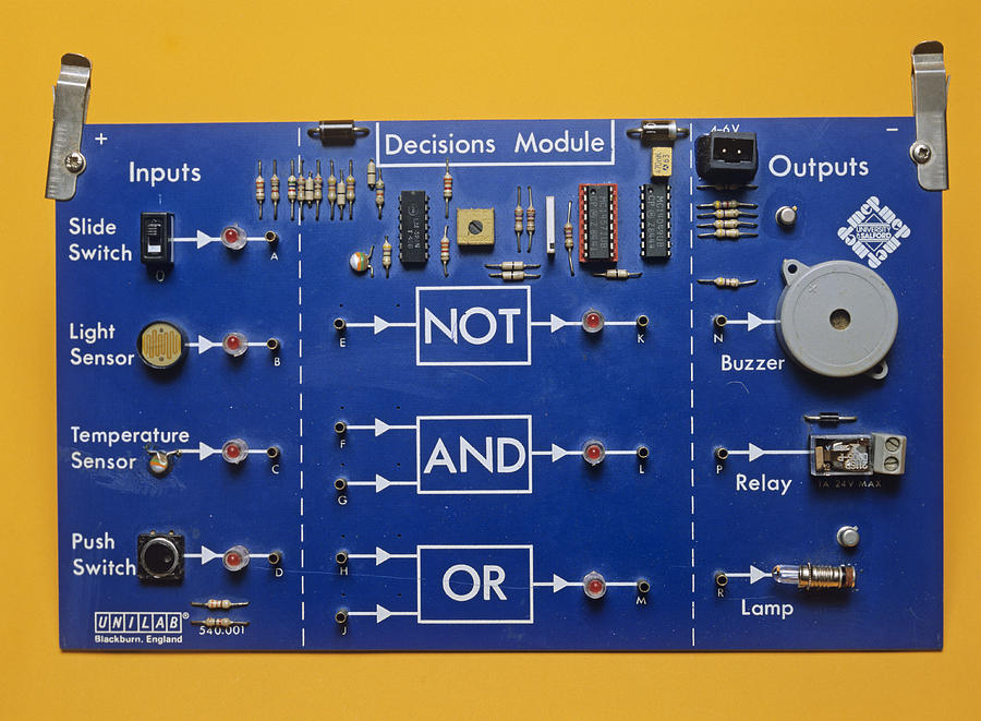 Or Photograph - Logic Gates by Andrew Lambert Photography