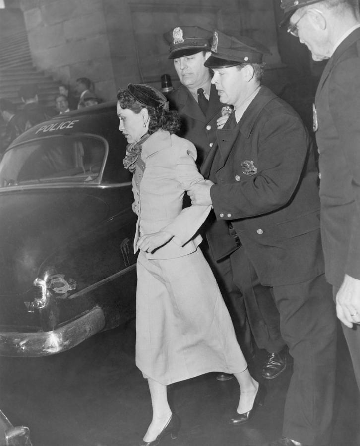 History Photograph - Lolita Lebron B. 1919, Under Arrest by Everett