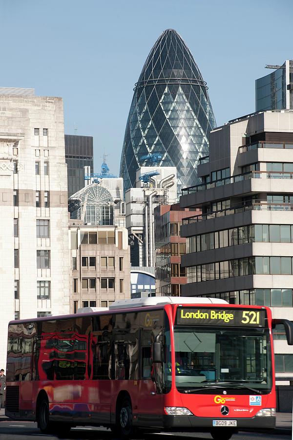 Vertical Photograph - London Bridge by Johnnie Pakington