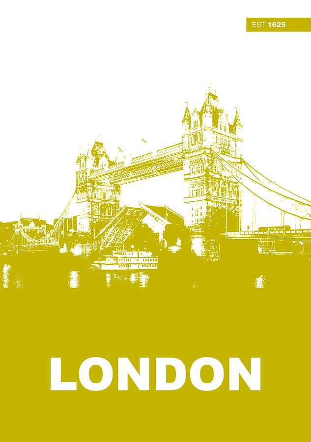London Photograph - London Bridge Poster by Naxart Studio