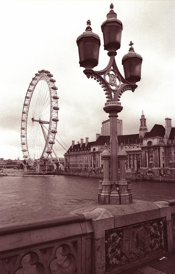 London Photograph - London Eye by Kathy Yates