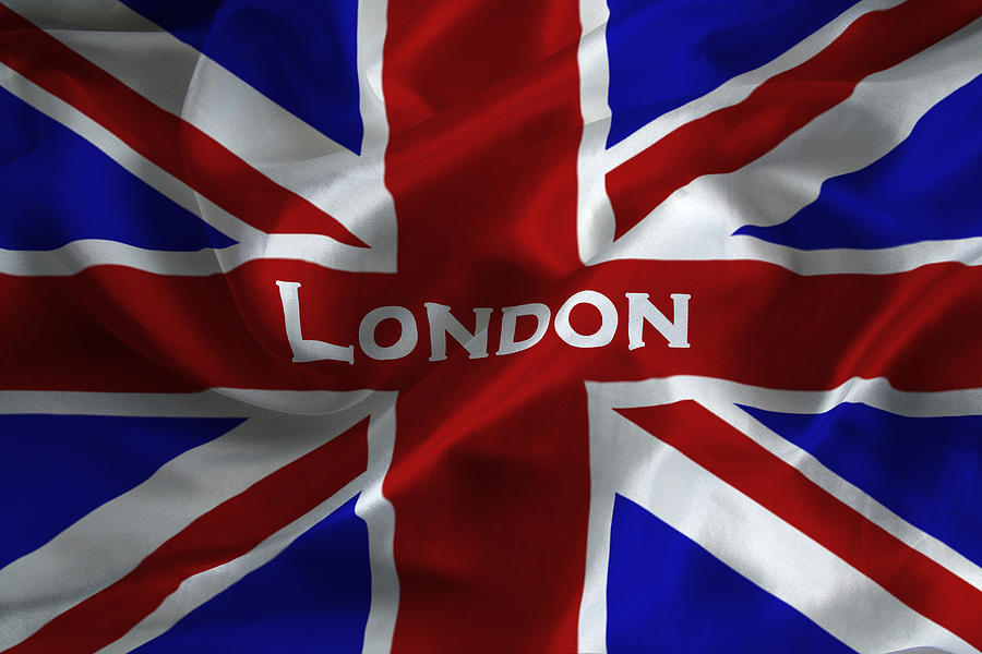 London Flag Photograph By David Pringle