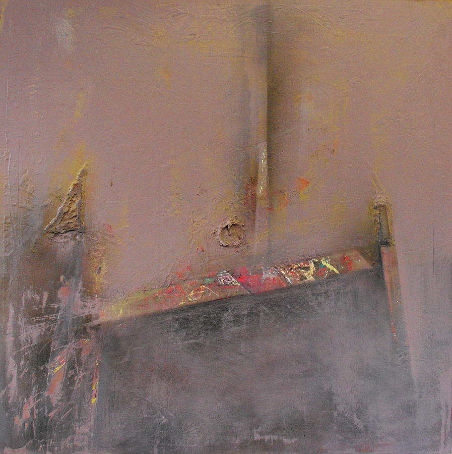 Acrylic Painting - London Fog by Ralph Levesque