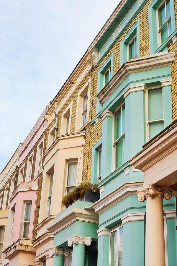 Apartment Photograph - London Houses by Tom Gowanlock