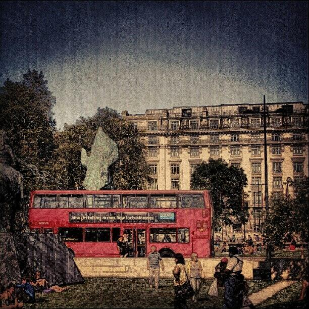 People Photograph - London Hydrpark | May 2012 , #london by Abdelrahman Alawwad