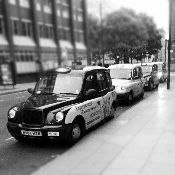 Taxi Photograph - #london #manchester #uk #england #cars by Abdelrahman Alawwad