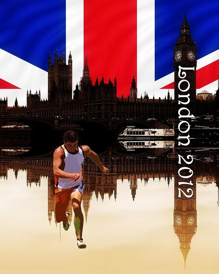 London Olympics Photograph - London Olympics by Sharon Lisa Clarke