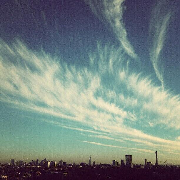 Beautiful Photograph - London Skyline.. A Sunny Sunday On The by Tess Walther