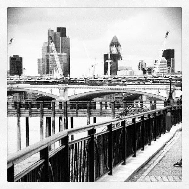 London Skyline Photograph by Allyson Ellis