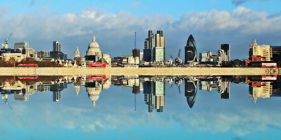 London Photograph - London Skyline by Sharon Lisa Clarke