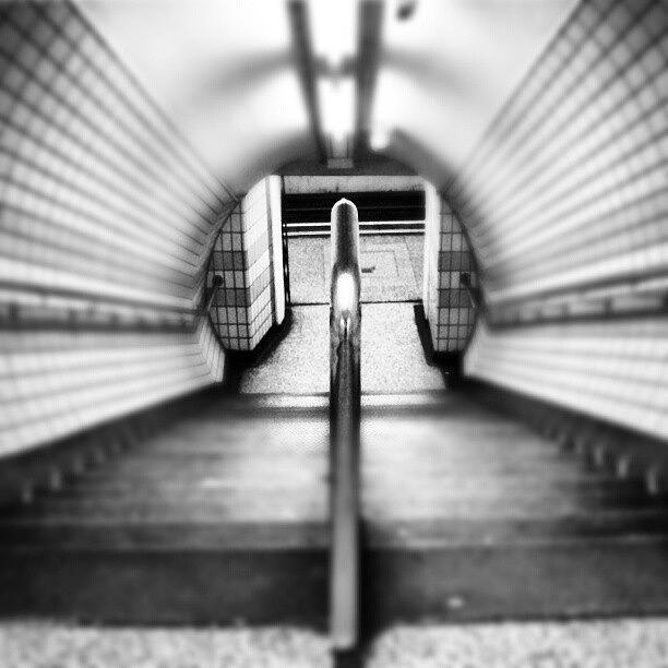 Trainstation Photograph - #london #uk May 2012| #underground by Abdelrahman Alawwad