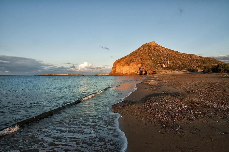 Crete Photograph - Lonely Beach by Manolis Tsantakis