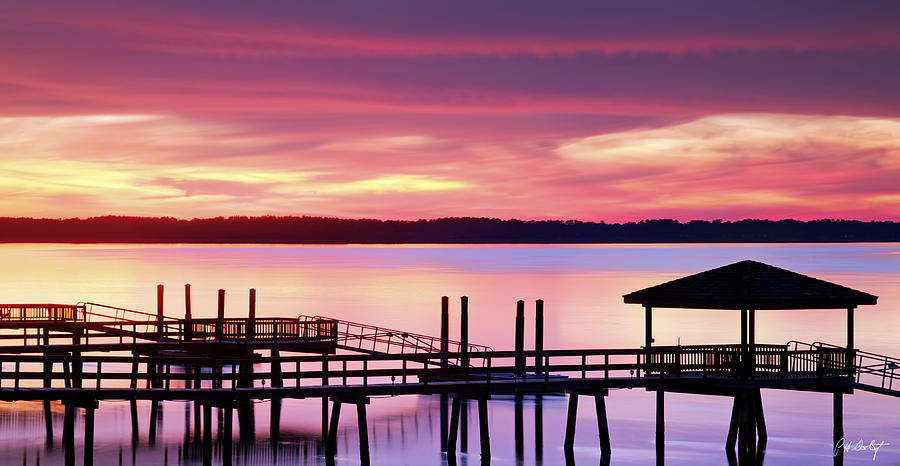 Beaufort County Photograph - Long After Sunset by Phill Doherty