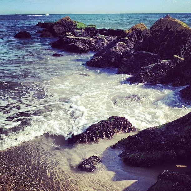 Summer Photograph - Long Beach by Randy Lemoine