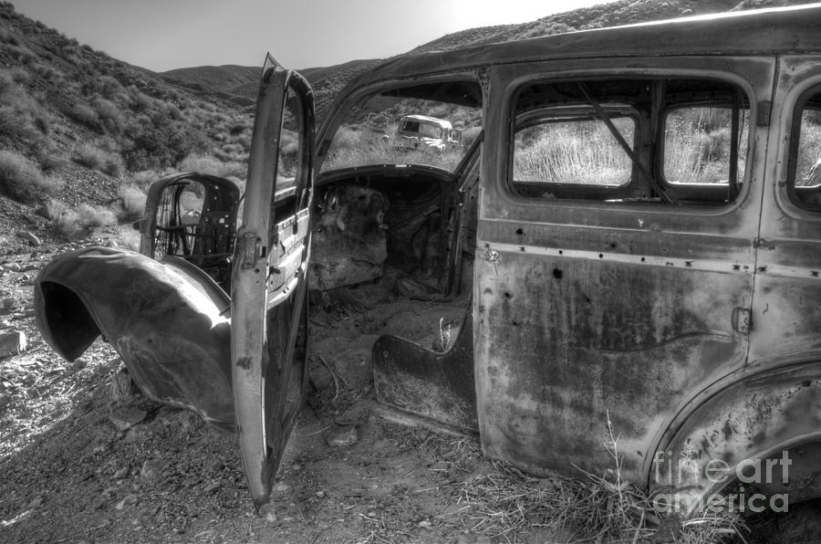 Old Cars Photograph - Long Forgotten by Bob Christopher