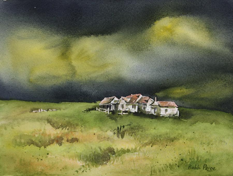 Watercolor Painting - Long Forgotten by Bobbi Price