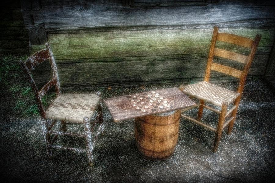Table Photograph - Long Gone by Christine Annas