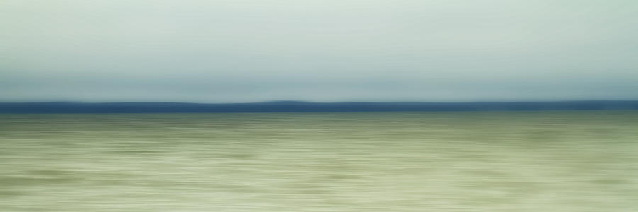 Impressionist Photograph - Long Island Sound by Bob Retnauer