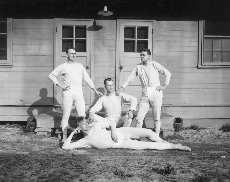 Adults Only Photograph - Long Johns On by Archive Photos