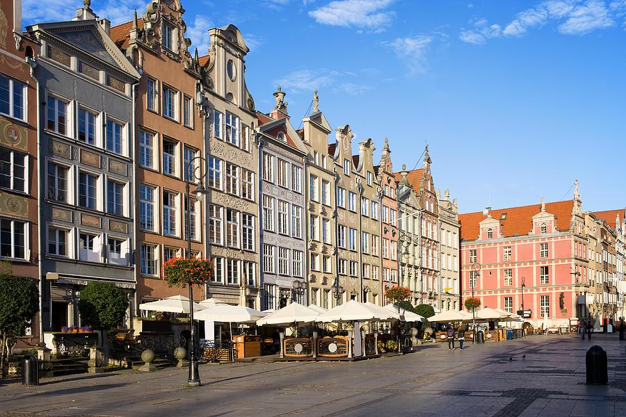 Apartment Photograph - Long Market In Gdansk by Artur Bogacki