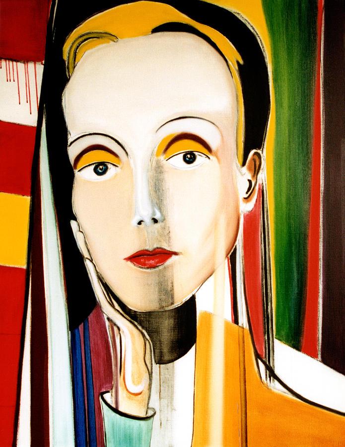 Look Painting - Look Scornfully by Fabrice Plas
