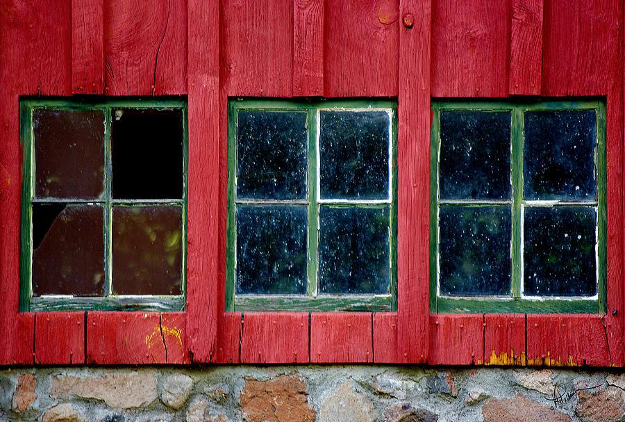 Window Photograph - Look Throught Any Window by Vicki Pelham
