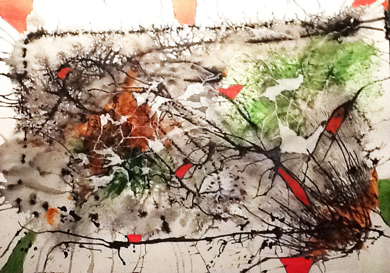 Abstract Painting - Looking For A Style by Graciela Scarlatto