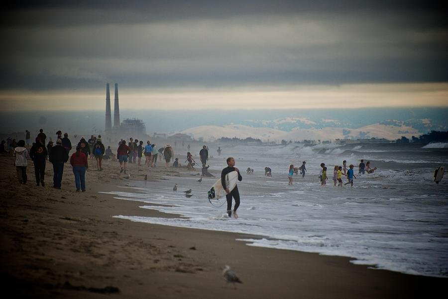 California Photograph - Looking South To Moss Landing by Eric Tressler
