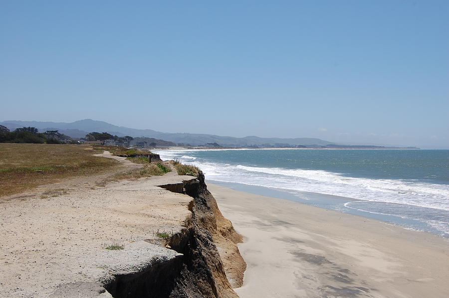 California Photograph - Looking Toward Half Moon Bay by Carolyn Donnell