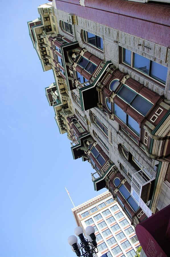 San Diego Photograph - Looking Up From The Gaslamp by John  Greaves