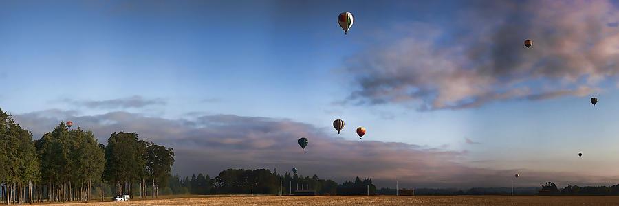 Loose Goose IV Hot Air Balloon Rally IMG 6492 Photograph by Torrey E Smith