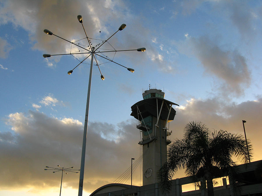 Landscape Photograph - Los Angeles Airport by Ian Stevenson