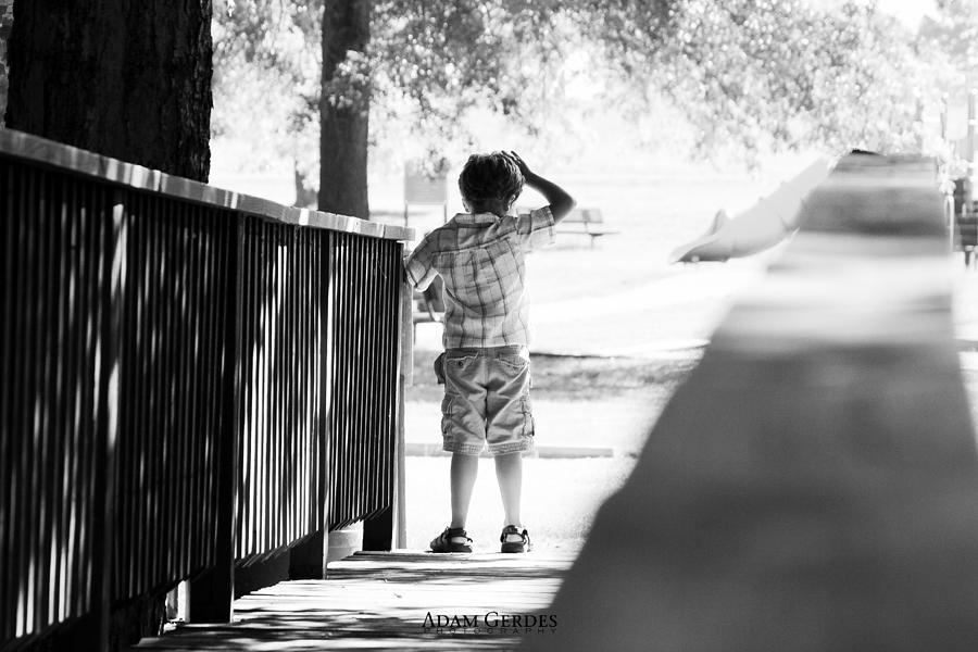 Boy Photograph - Lost Boy by Adam Gerdes