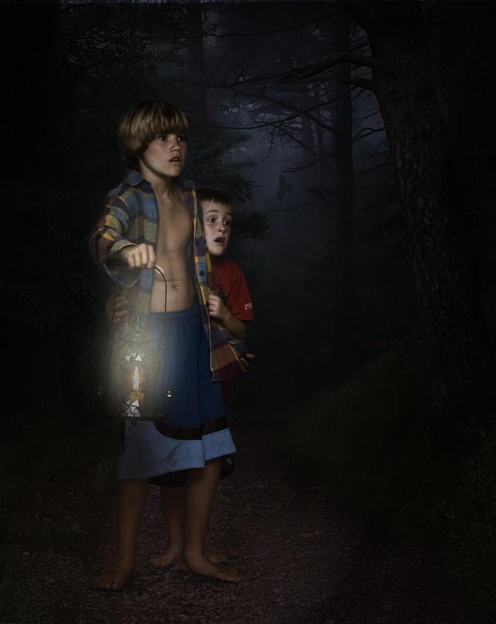 Lost Digital Art - Lost by Hazel Billingsley