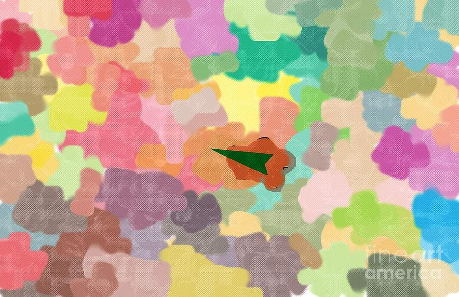 Pastel Colors Digital Art - Lost In The Colors by Mary M Collins