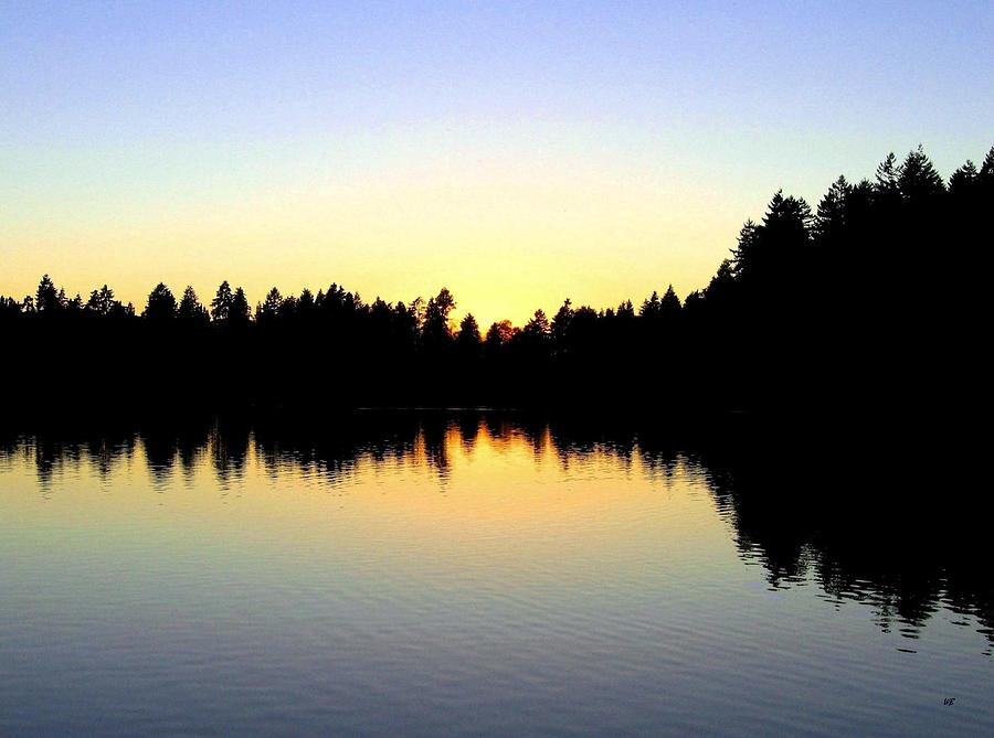 Sunset Photograph - Lost Lagoon Sunset by Will Borden