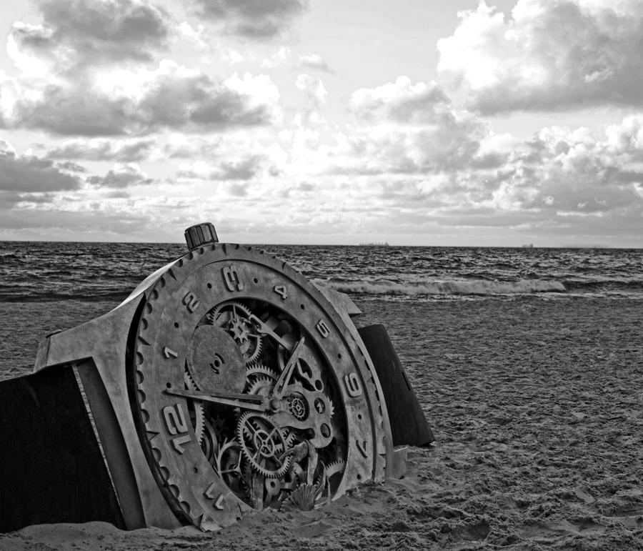 B W Photograph - Lost Time by Gordon Pressley